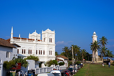 The old town of the historic Galle Fort, UNESCO World Heritage Site, Sri Lanka, Asia
