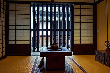 Koshi-no-Ie Residence (Naramachi Lattic House) is a former merchant home, now a public museum in Nara, Honshu, Japan, Asia