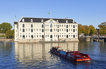 Het Scheepvaartmuseum, the National Maritime museum in Amsterdam, North Holland, The Netherlands, Europe