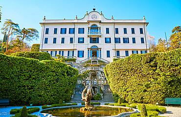 Fountain at Villa Carlotta on Lake Como