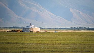 Mongolian yurt, Province of Khövsgöl - Mongolia