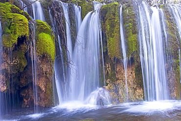 Waterfall, Arrow bamboo lakeFalls, Jiuzhaigou valley, Sichuan, China