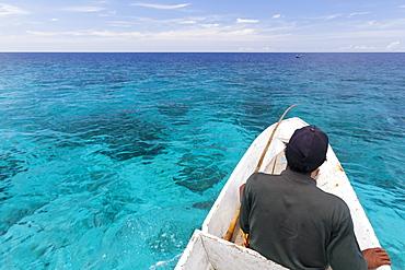 Patrol around Nukus Island - Maluku Indonesia