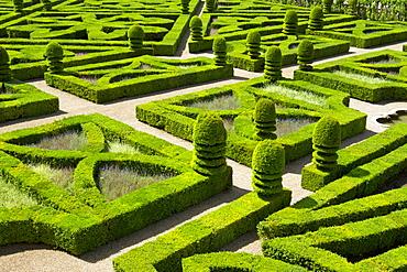 Gardens of Villandry Castle, France