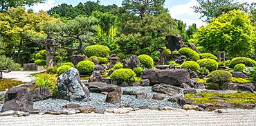 Garden of Temple Myomanji, Kyoto, Japon