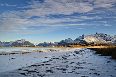 Shore of Lofoten Islands, Nordland, Norway