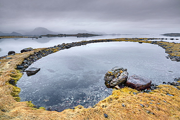 Landscape of Vesterålen Islands, Nordland, Norway
