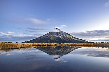 Mount Taranaki, Mount Egmont National Park, North Island, New Zealand