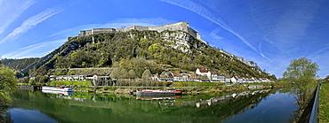 Citadel of Vauban classified UNESCO World Heritage Site, Besançon, Doubs, France