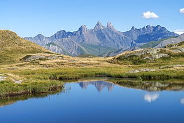 Potron lake, Aiguilles d'Arves, Maurienne valley, Alps, France