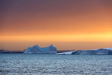 Icebergs, Lemaire channel, Antarctica.
