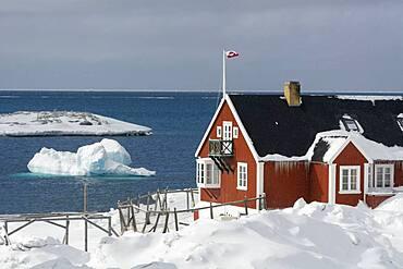 Ilulissat, Disko bay, Greenland.