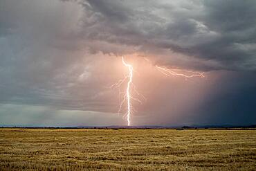 Thunderstorm in Spain