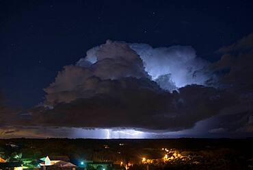 Spring storm, Vilaudrie, Dr?me, France