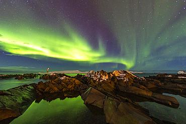 Northern lights. Vardo, Norway