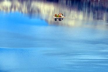 Saint Michel Chapel, Serre Poncon Lake, Hautes-Alpes, France