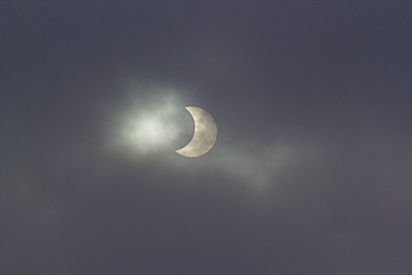 partial solar eclipse Saxony Germany Europe
