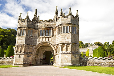 Lanhydrock a country residence dating from the 1600's in Cornwall, UK.