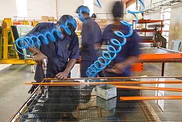 The Kamal factory in Bangalore, Karnataka, India that manufactures solar thermal panels for heating water.