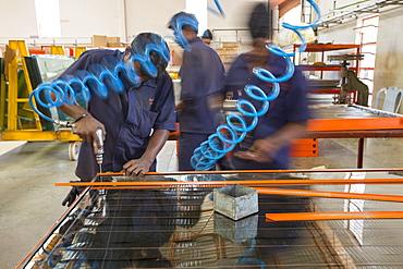 The Kamal factory in Bangalore, Karnataka, India that manufactures solar thermal panels for heating water.