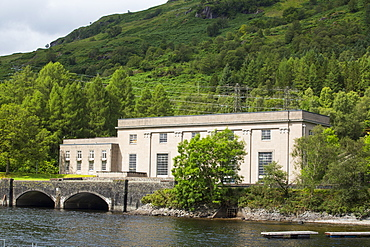 At 152 Mw the sloy Hydrop power station is the largest hydro power station in the UK, Loch Lomond, Scotland, UK.