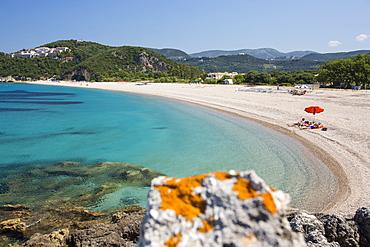 A rocky cove near Sivota, Greece.