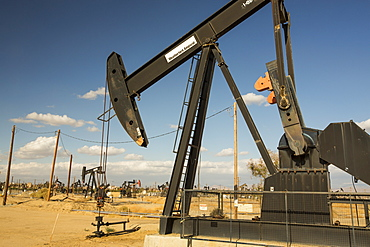 The Kern River oilfield in Oildale, Bakersfield, California, USA