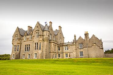 Glengorm Castle near Tobermory, Isle of Mull, Scotland, UK.