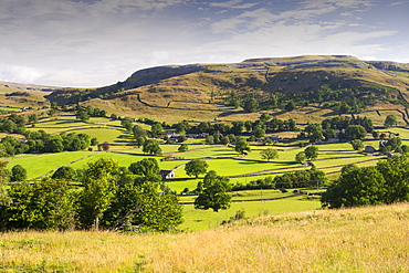 The hamlet of Wharfe just above Austwick in the Yorkshire Dales, UK.