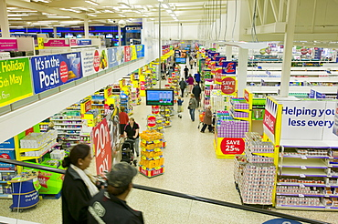 A Tesco superstore in Leicester, Leicestershire, England, United Kingdom, Europe