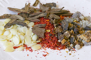 Traditional Chinese herbal medicines in a shop in Kendal, Lake District, Cumbria, England, United Kingdom, Europe