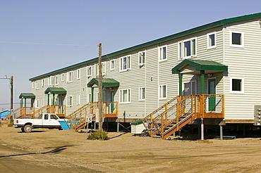 Inuit housing in Kotzebue in Alaska, United States of America, North America