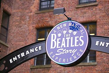 The Beatles Museum in Liverpool, Merseyside, England, United Kingdom, Europe