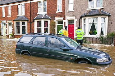In January 2005 a severe storm hit Cumbria that created havoc on the roads and toppled over one million trees, Cumbria, England, United Kingdom, Europe