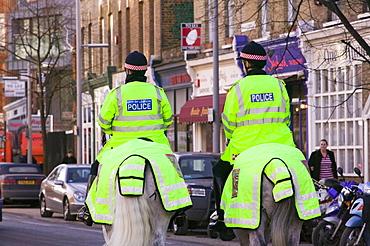 Mounted police in London, England, United Kingdom, Europe