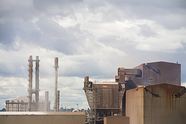 The Corus steel works at Scunthorpe, England, United Kingdom, Europe