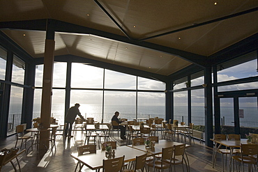 The Gallie Craig Tea room and cafe on the Mull of Galloway, Scotland, United Kingdom, Europe