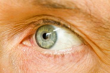 A man's eye