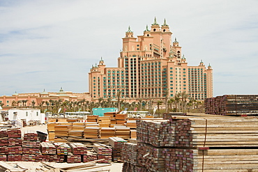 The Atlantis on the Palm a hyper luxury hotel in an area of Dubia that was reclaimed from the sea, United Arab Emirates, Middle East