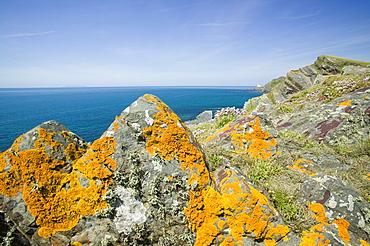 Hartland Point in Devon, England, United Kingdom, Europe