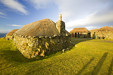 Crofting Museum at Peingown on the Isle of Skye, Scotland, United Kingdom, Europe