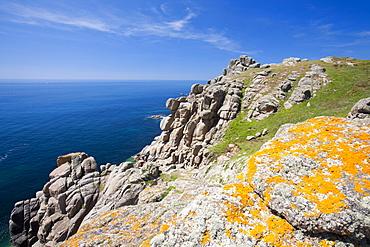 Gwennap Head near Lands End, Cornwall, England, United Kingdom, Europe