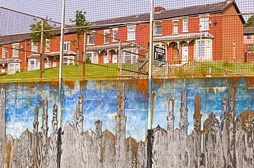 Housing in a Pakistani area of Blackburn, Lancashire, England, United Kingdom, Europe