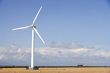 Siddick windfarm on the outskirts of Workington, Cumbria, England, United Kingdom, Europe
