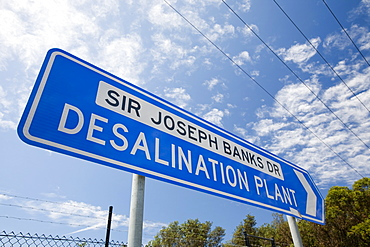 A new multi million dollar desalination plant in Sydney, New South Wales, Australia, Pacific