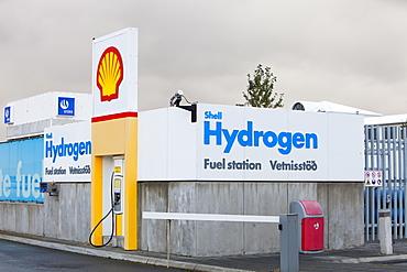 A hydrogen filling station on the outskirts of Reykavik, Iceland, Polar Regions
