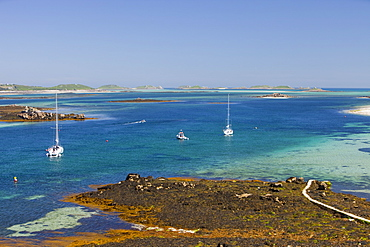 Tresco, one of the Scilly Isles, off South West Cornwall,, United Kingdom, Europe