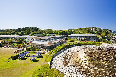 The Island Hotel on Tresco, Isles of Scilly, United Kingdom, Europe