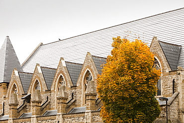 Solar tiles on St. Silas's church in Pentonville, London, England, United Kingdom, Europe