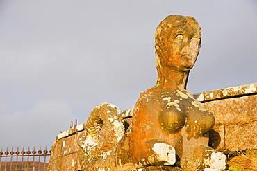 One of two mermaids in Inverarish of the Isle of Raasay, Scotland, United Kingdom, Europe
